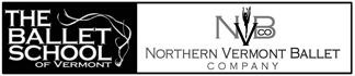 Ballet School of Vermont | Home of Northern Vermont Ballet Logo